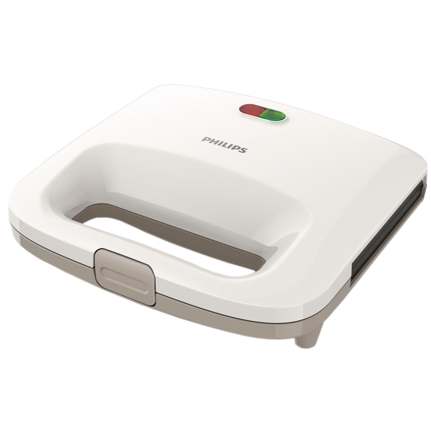 Fotografie Sandwich-Maker Philips Daily Collection HD2395/00, 820 W, Alb