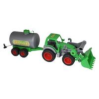 Polesie Farmer benzinszállító traktor 57cm