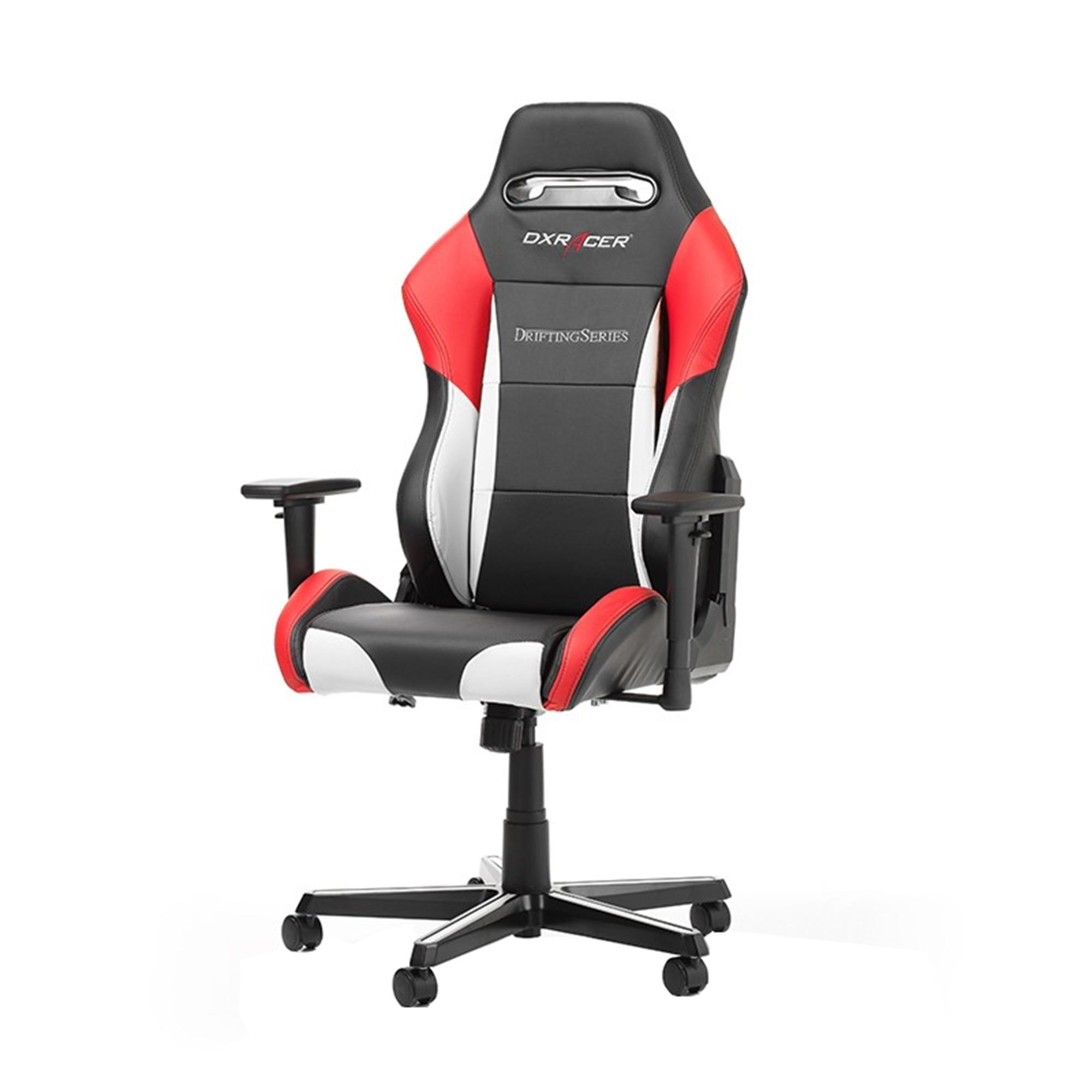 DXRacer DRIFTING D61 NWR gaming szék, FeketeFehérPiros