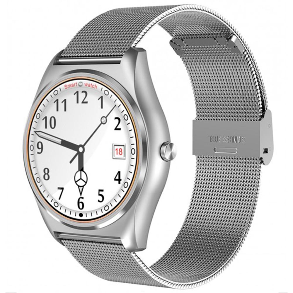 Fotografie Ceas Smartwatch iUni N3 Plus, HR, Silver