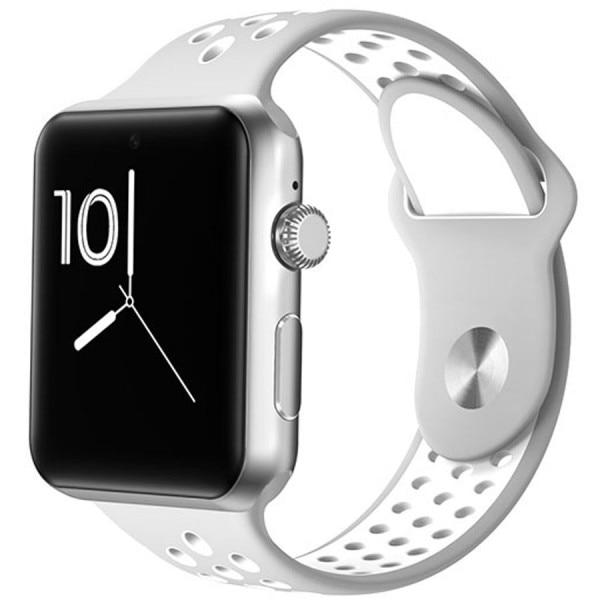 Fotografie Ceas Smartwatch cu telefon iUni M09 Plus, HR, Silver