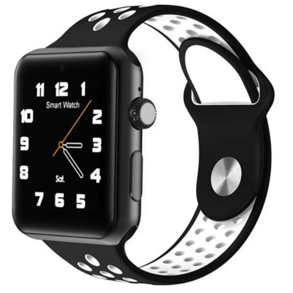 Fotografie Ceas Smartwatch cu telefon iUni M09 Plus, HR, Black