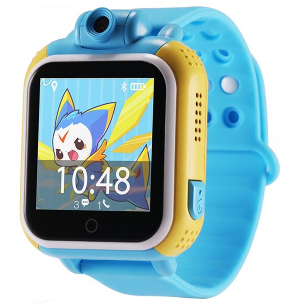 Fotografie Ceas smartwatch copii iUni Kid730, Telefon incorporat, GPS, Wi-Fi, Albastru