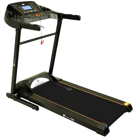 Banda de alergare electrica FitTronic D30, motor 1,75 CP, greutate suportata 100 kg, mp3 player, intrare usb pt ascultare muzica, programe prestabilite