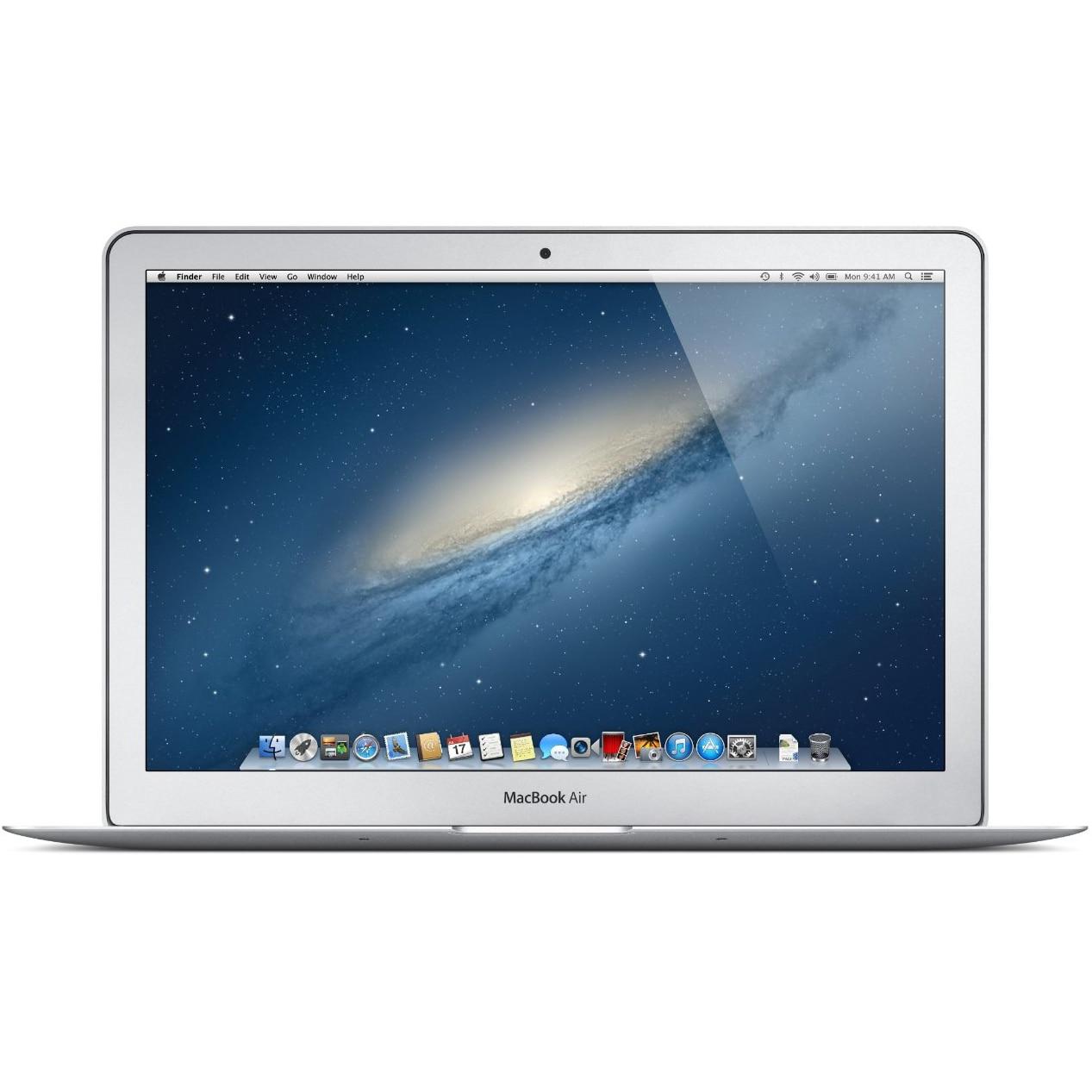 """Fotografie Laptop Apple MacBook Air 13 cu procesor Intel® Dual Core™ i5 1.60GHz, Broadwell™, 13.3"""", 4GB, 128GB SSD, Intel® HD Graphics 6000, OS X Yosemite, INT KB"""