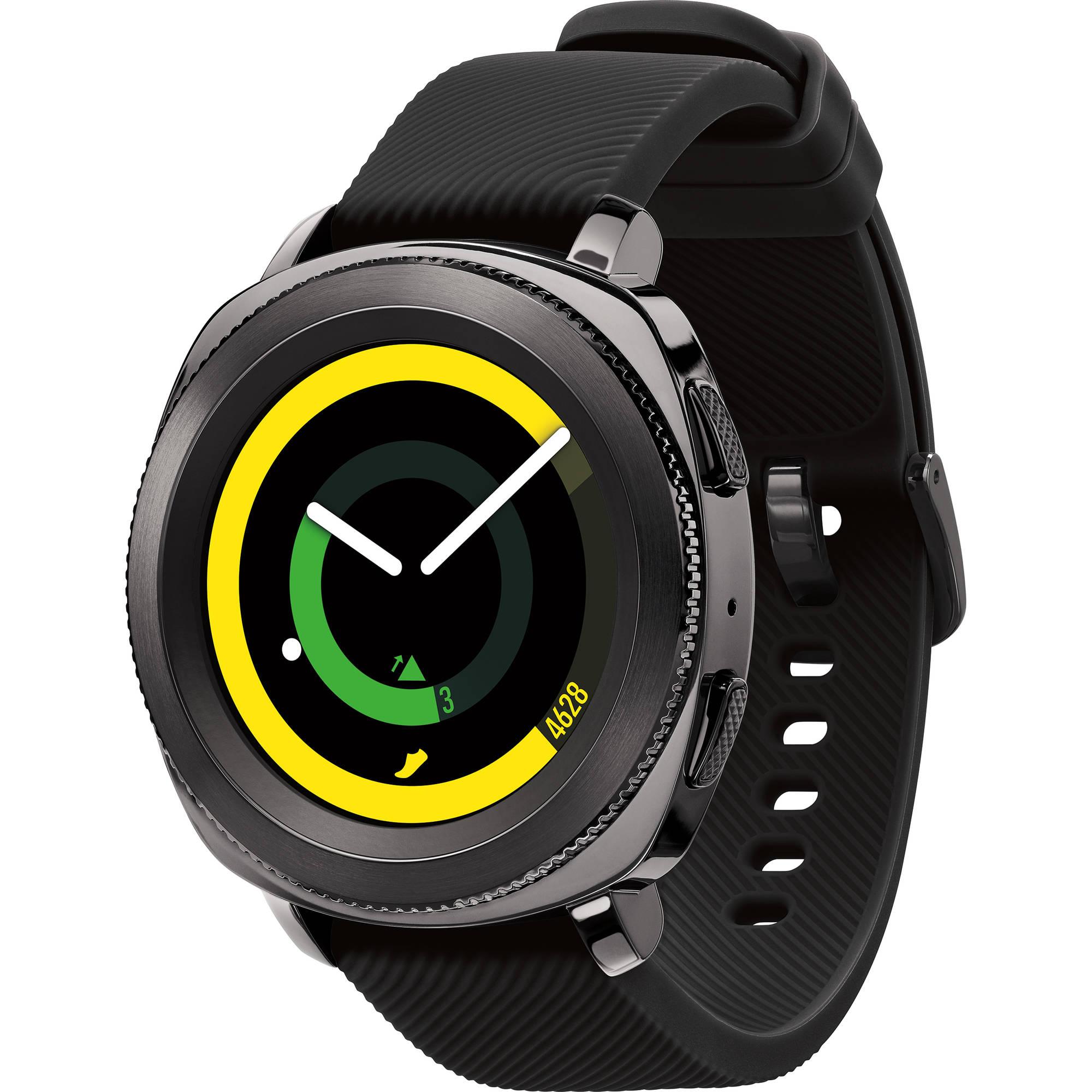 Samsung Gear Sport okosóra, Fekete eMAG.hu