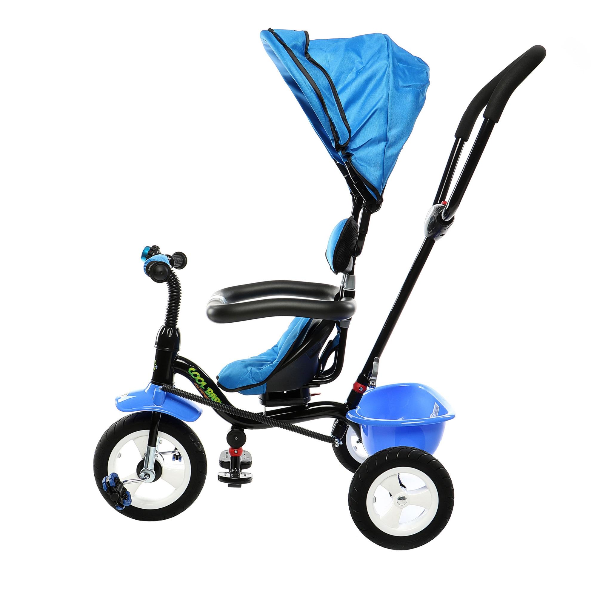 Fotografie Tricicleta multifunctionala Mappy Joy, Albastru