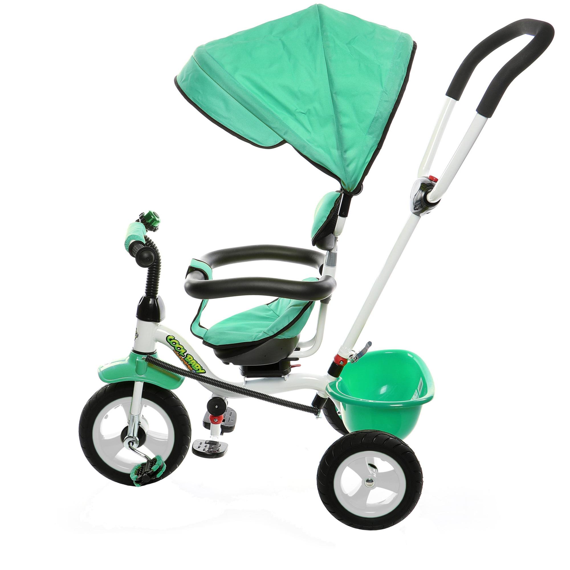 Fotografie Tricicleta multifunctionala Mappy Joy, Verde