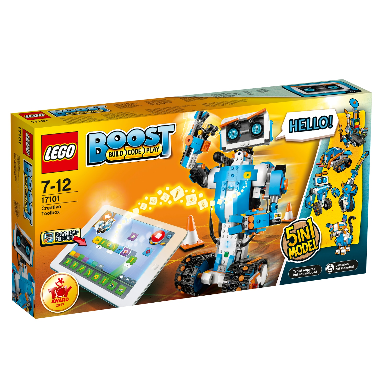 Fotografie LEGO BOOST -Cutie creativa de unelte 17101, 847 piese