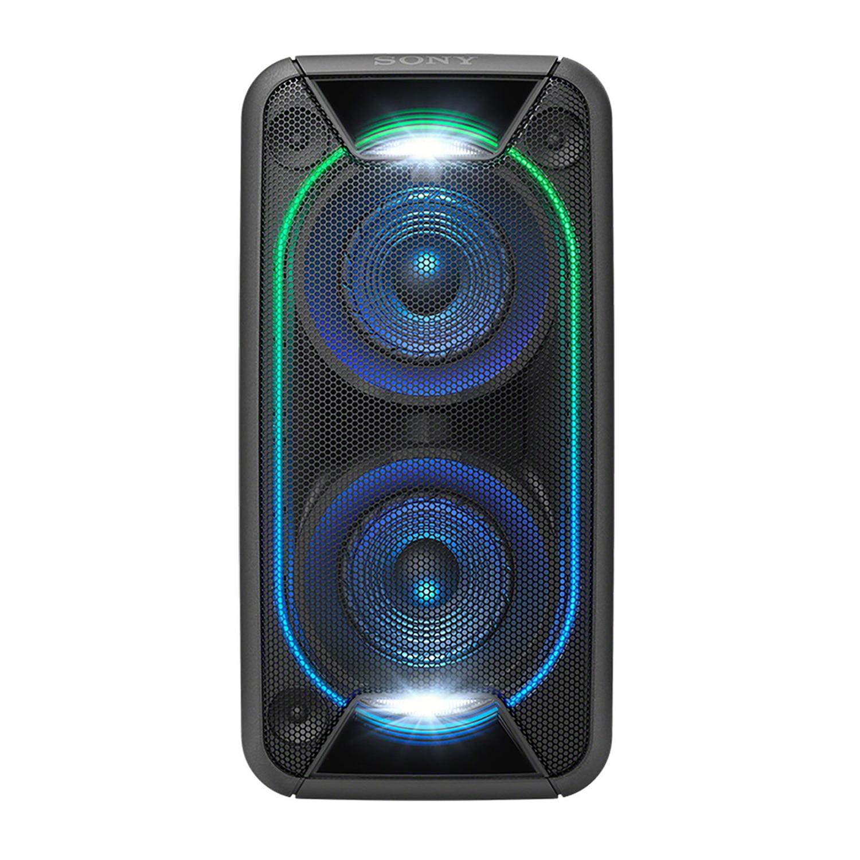 Fotografie Sistem audio High Power Sony GTKXB90B, Hi-Fi, Bluetooth, Extra Bass, Party music, Baterie, Negru
