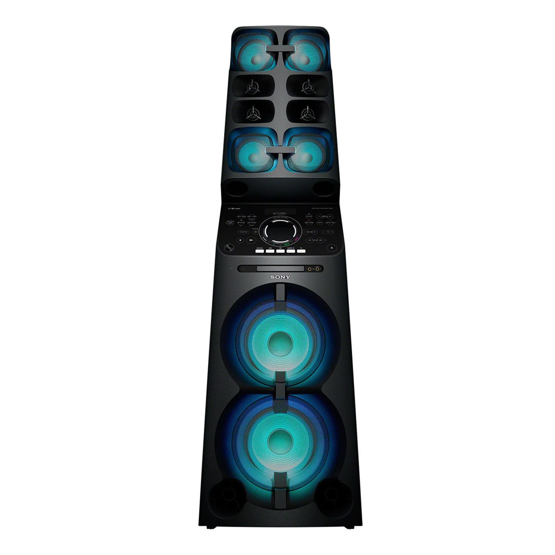 Fotografie Sistem audio Sony MHCV90DW, Hi Power, Wi-Fi, Bluetooth, NFC, Mega BASS, Negru