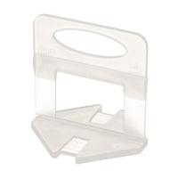клипове PLK нивелиране на плочки 100 бр, отстояние 1 мм за дебелини на плочи 3 – 12 мм