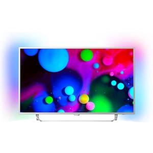 Televizor LED Smart Android Philips, 108 cm, 43PUS6412/12, 4K Ultra HD, Clasa A