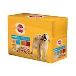 Мокра храна за кучета Pedigree Junior, 12 бр x 100 гр
