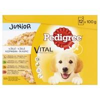 Hrana umeda pentru caini Pedigree Junior, 12x100g