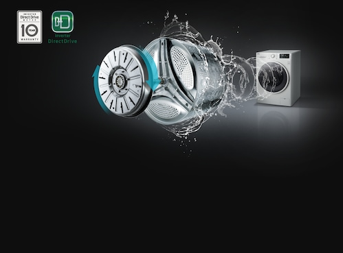 Пералня със сушилня Slim LG F2J6HM0W