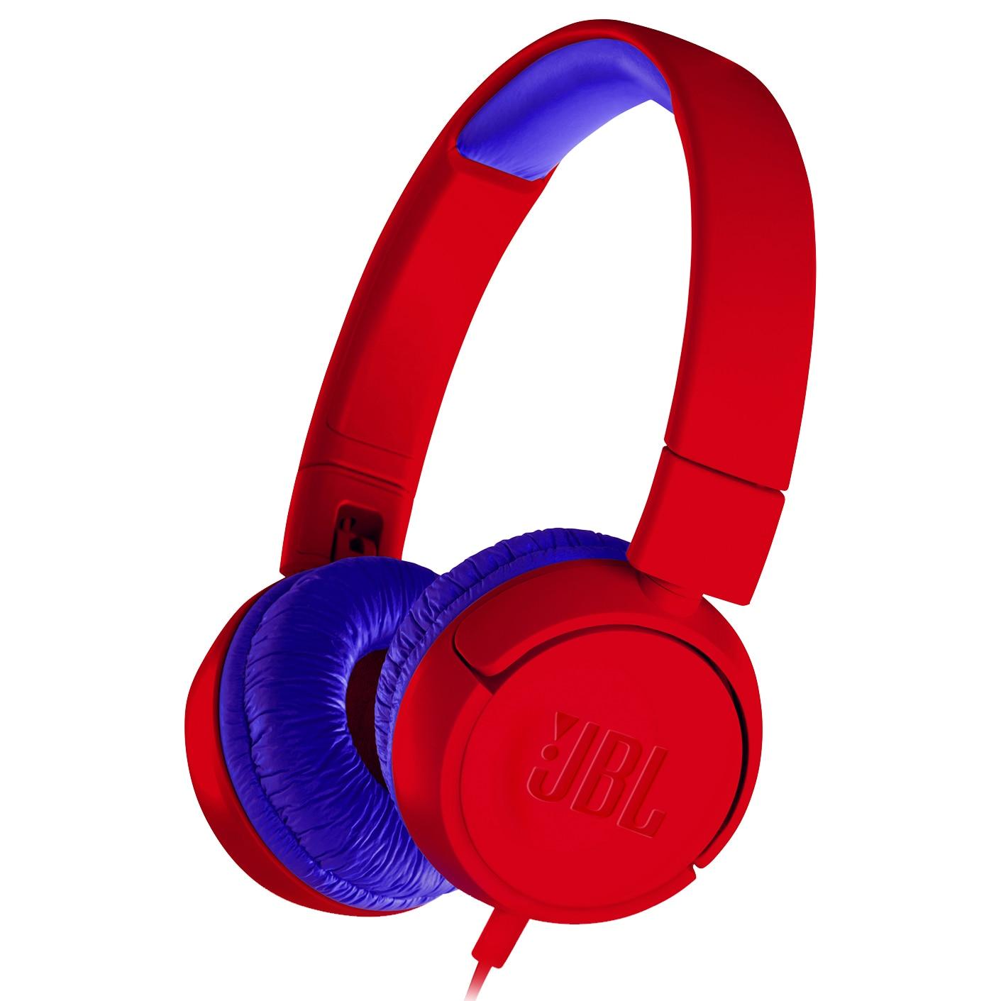 Fotografie Casti audio pentru copii JBL JR300, rosu