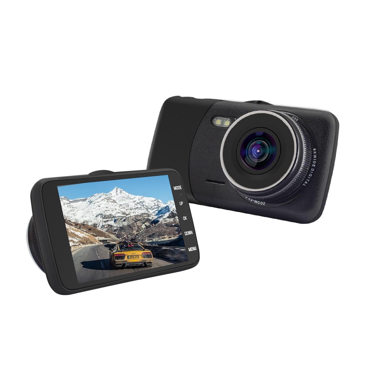 "Fotografie Camera Auto DVR 2Drive EXECUTIVE 4"" Full HD, cu card de memorie Kingston microSDHC 8GB, Class 10 + Adaptor"