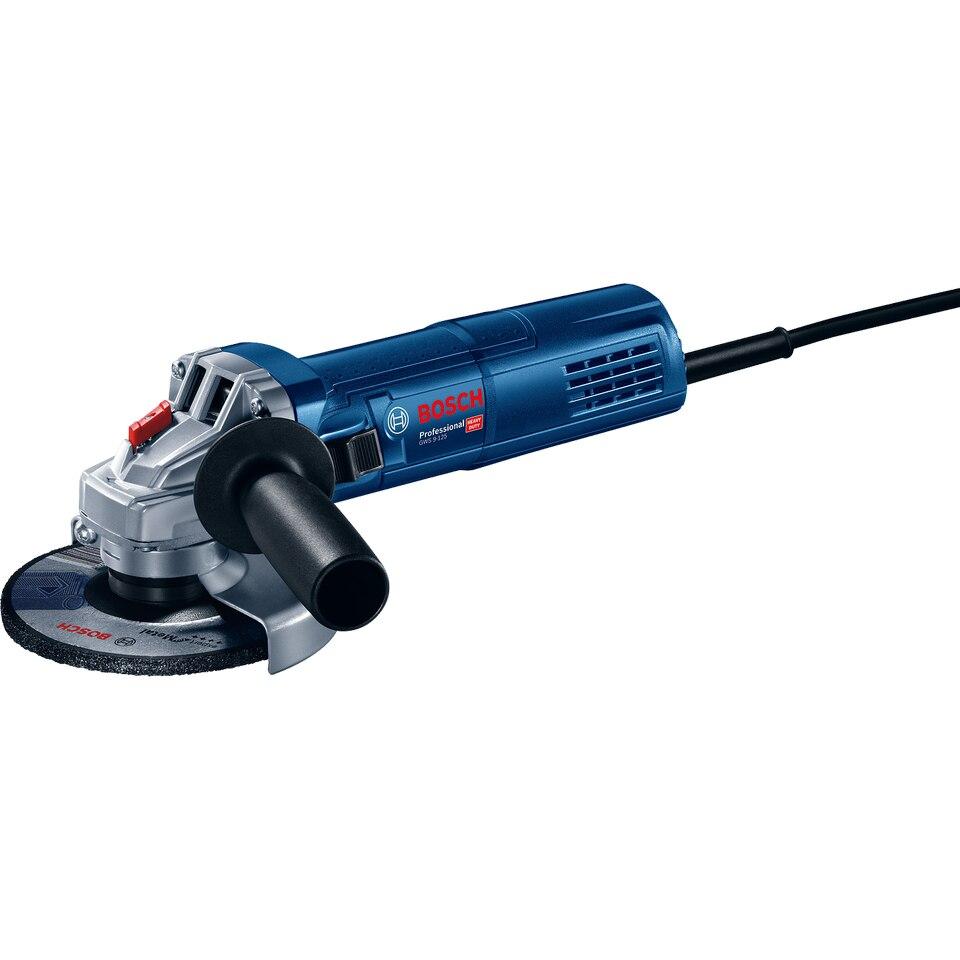Fotografie Polizor unghiular (flex) Bosch Professional GWS 9-125, 900 W, 125 mm