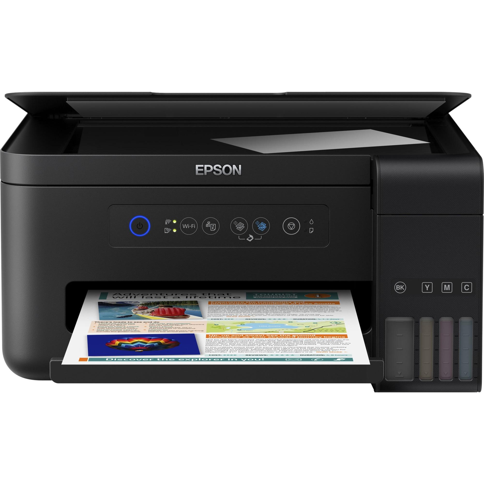 Fotografie Multifunctional inkjet color Epson L4150 CISS, A4, Wireless