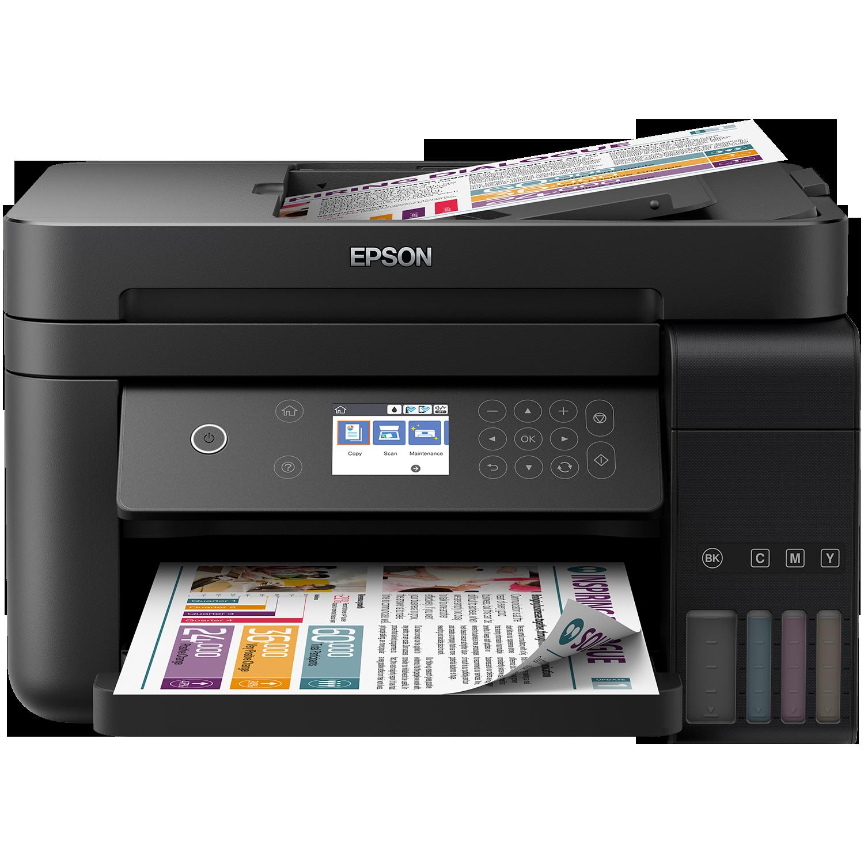 Fotografie Multifunctionala InkJet Color Epson L6170 CISS , A4, Wireless