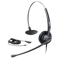 Yealink YHS33 headset Fekete