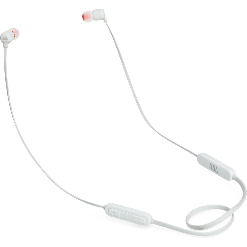Fotografie Casti in ear JBL T110BT, bluetooth, microfon, alb