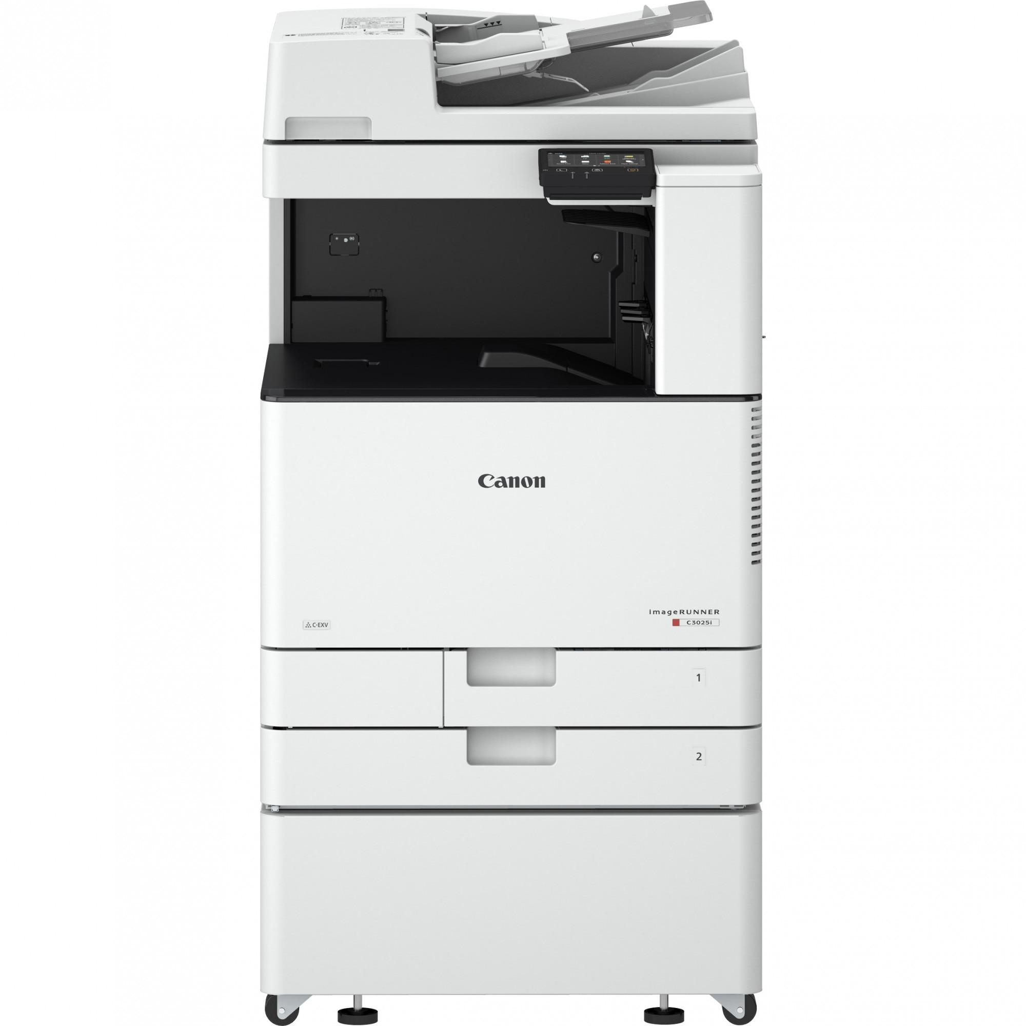 Fotografie Multifunctional laser A3 color Canon imageRUNNER C3025i + Piedestal S1 + Toner C/M/Y/B