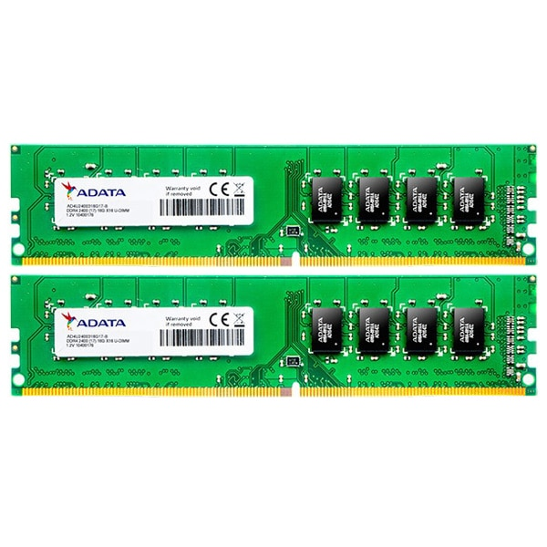 Fotografie Memorie ADATA Premier 16GB (2x8GB) DDR4, 2400MHz, CL17