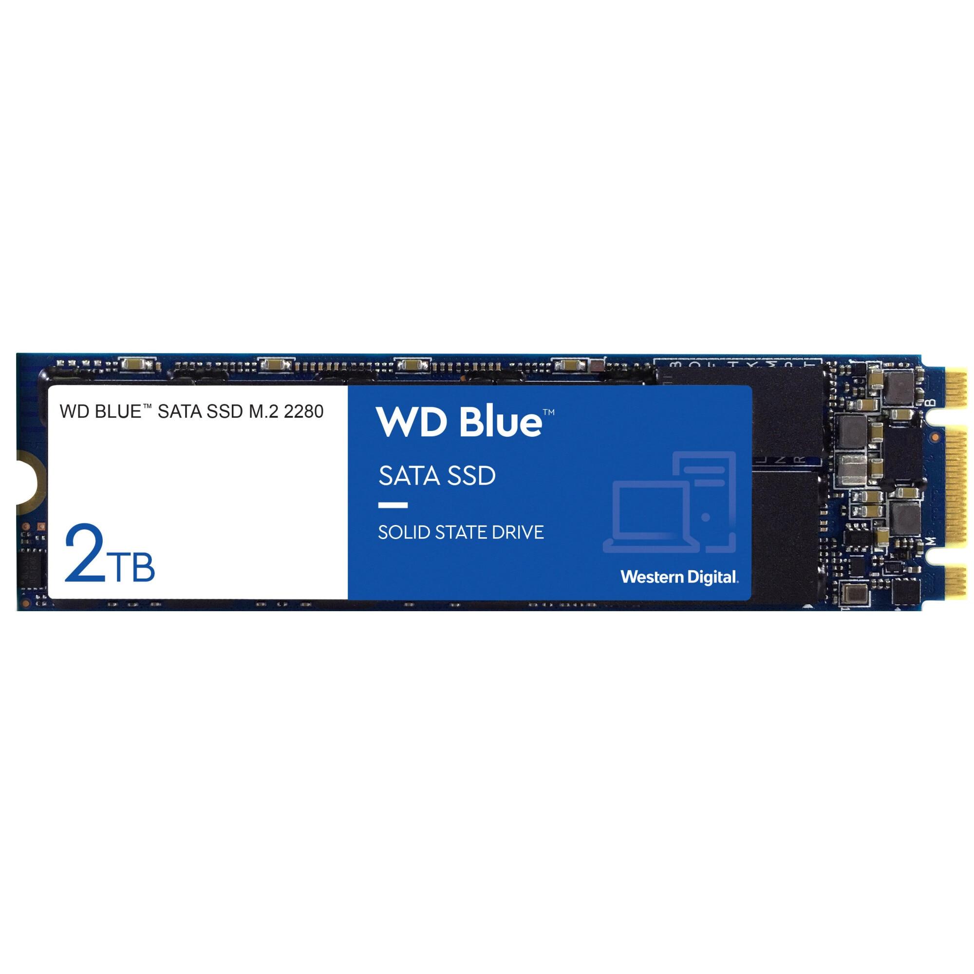 Fotografie Solid State Drive (SSD) Western Digital Blue 3D, 2TB, SATA III, M.2