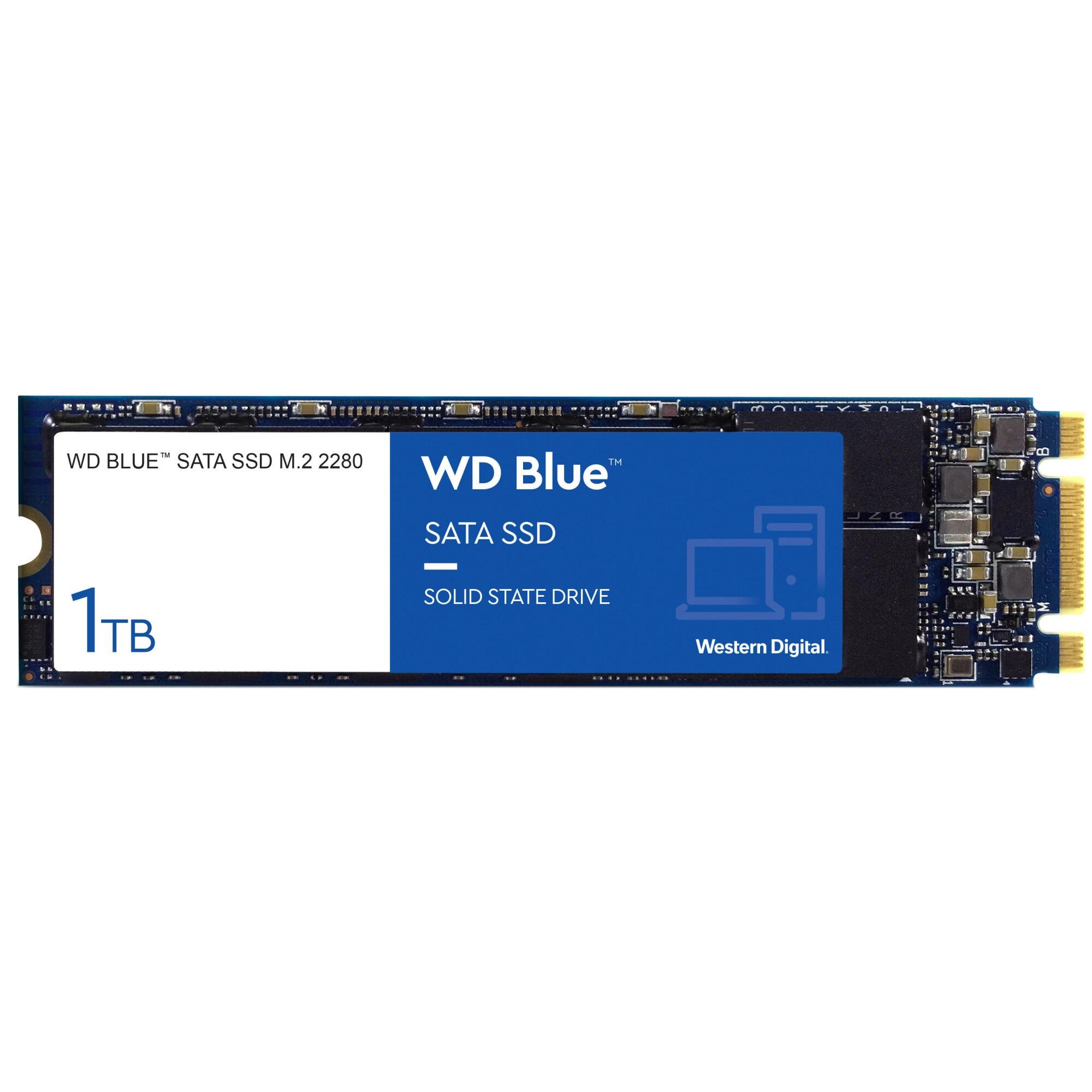 Fotografie Solid State Drive (SSD) Western Digital Blue 3D, 1TB, SATA III, M.2