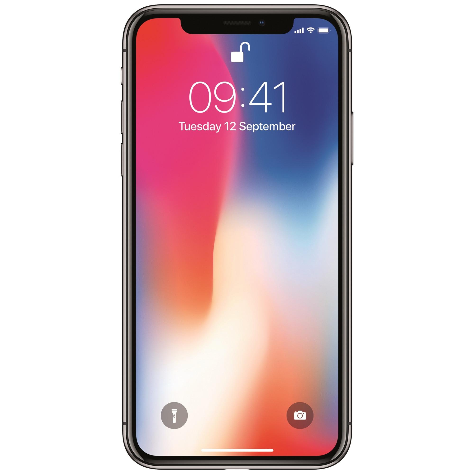 Fotografie Telefon mobil Apple iPhone X, 64GB, 4G, Silver