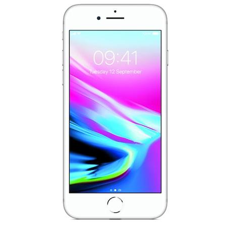 Apple iPhone8 Mobiltelefon, Kártyafüggetlen, 64GB, LTE,Ezüst