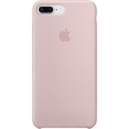 Husa de protectie Apple pentru iPhone 8 Plus / iPhone 7 Plus, Silicon, Pink Sand