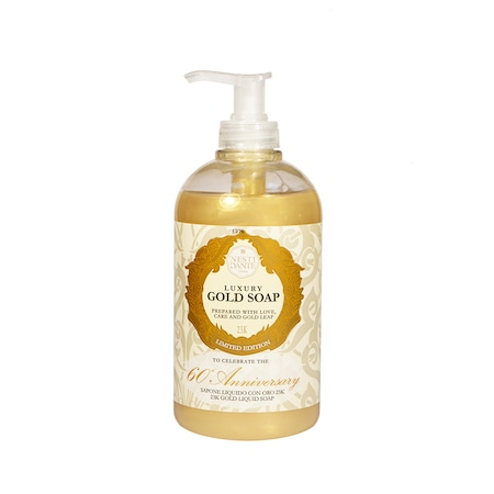 Сапун за лице и тяло Nesti Dante Gold, 500ml