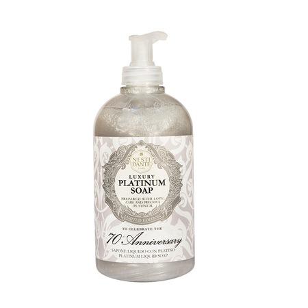 Сапун за лице и тяло Nesti Dante Platinum, 500ml
