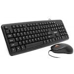 Комплект Жични Клавиатура + Мишка USB Spacer SPDS-S6201