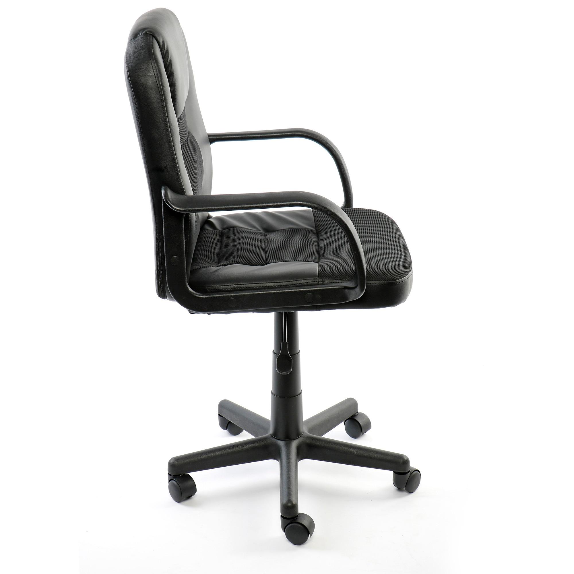 Kring Fortune Ergonomikus irodai szék, Poliuretán, Fekete