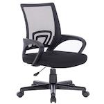 Kring Star Ergonomikus irodai szék, Hálós, Fekete