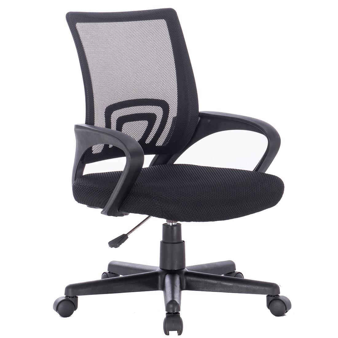 Fotografie Scaun de birou ergonomic Kring Star, Mesh, Negru