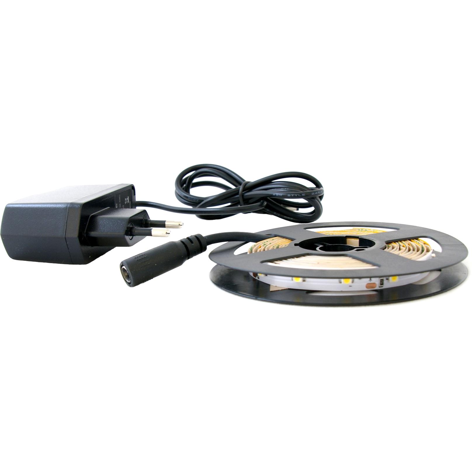 Fotografie Kit banda LED Flink, 2 m, Alb cald