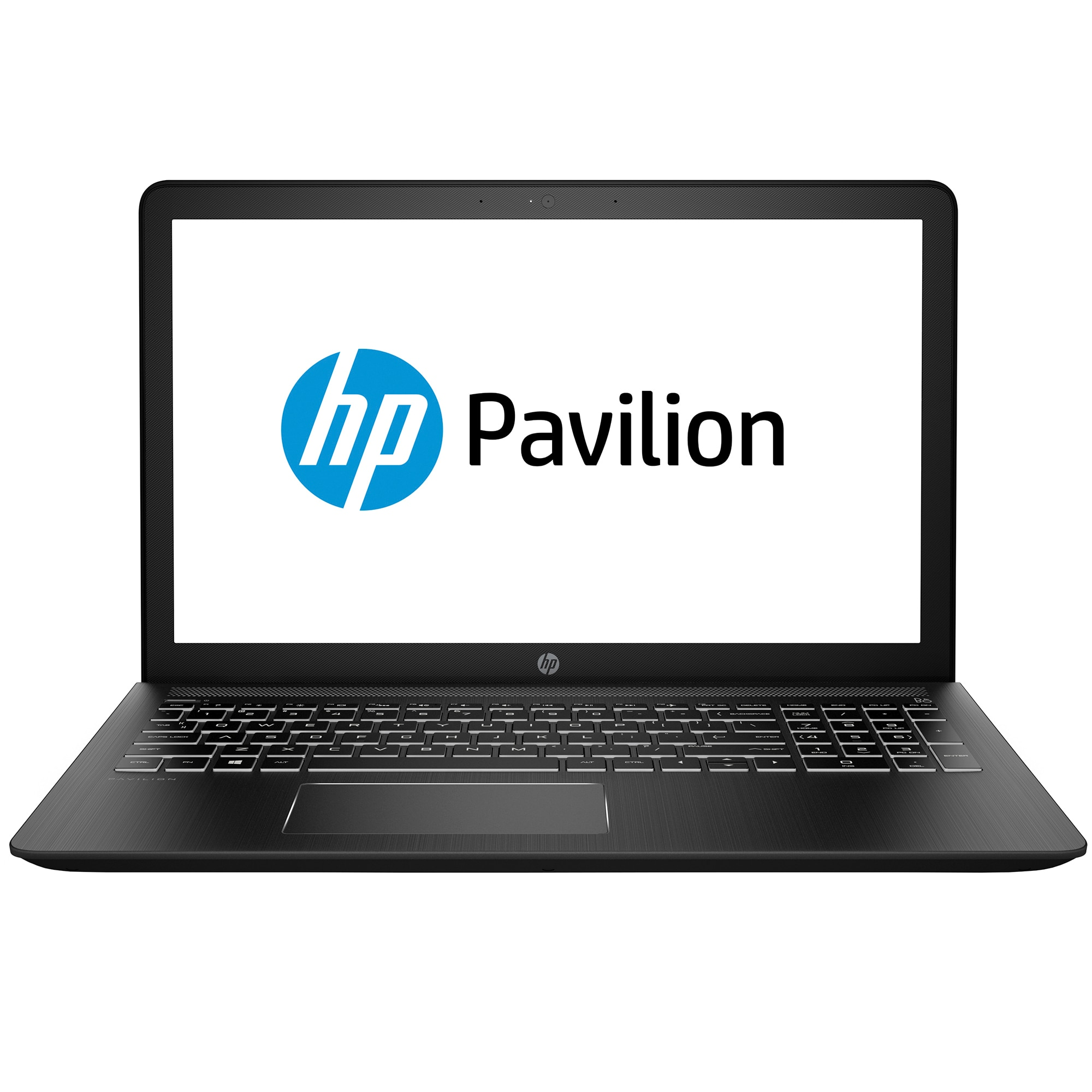 "Fotografie Laptop Gaming HP Pavilion Power cu procesor Intel® Core™ i7-7700HQ pana la 3.80 GHz, Kaby Lake, 15.6"", Full HD, IPS, 8GB, 256GB SSD, NVIDIA® GeForce® GTX 1050 4GB, Free DOS, Black"