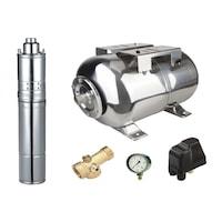 kit complet sistem hidrofor pompa submersibila