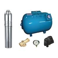 kit complet sistem hidrofor pompa submersibila dedeman