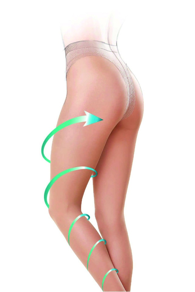 láb karcsúsító harisnya