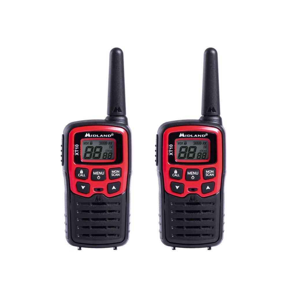 Fotografie Statie radio PMR portabila Midland XT10, 2 buc/set