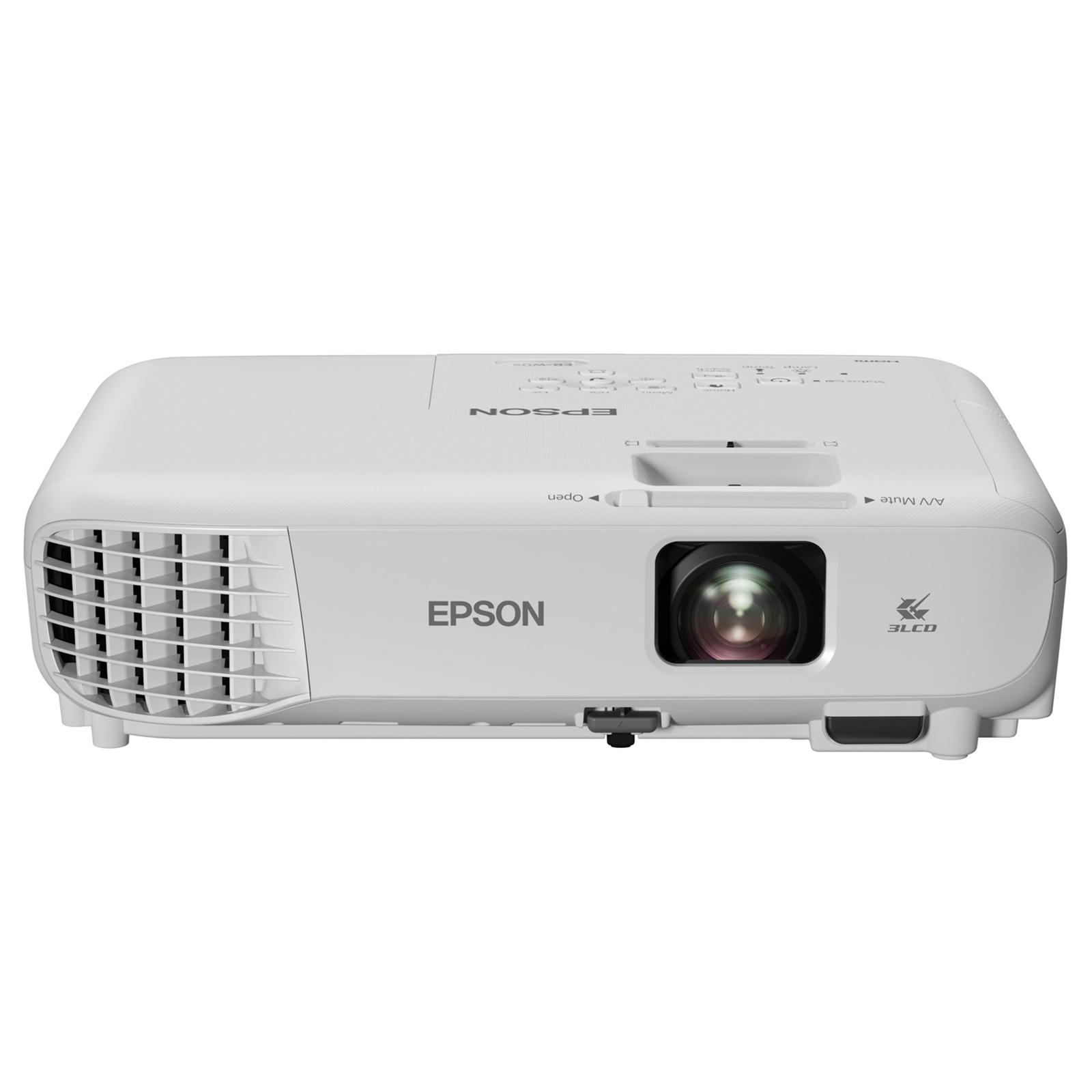 Fotografie Videoproiector Epson EB-W05 ,WXGA, 3300 lumeni, Alb