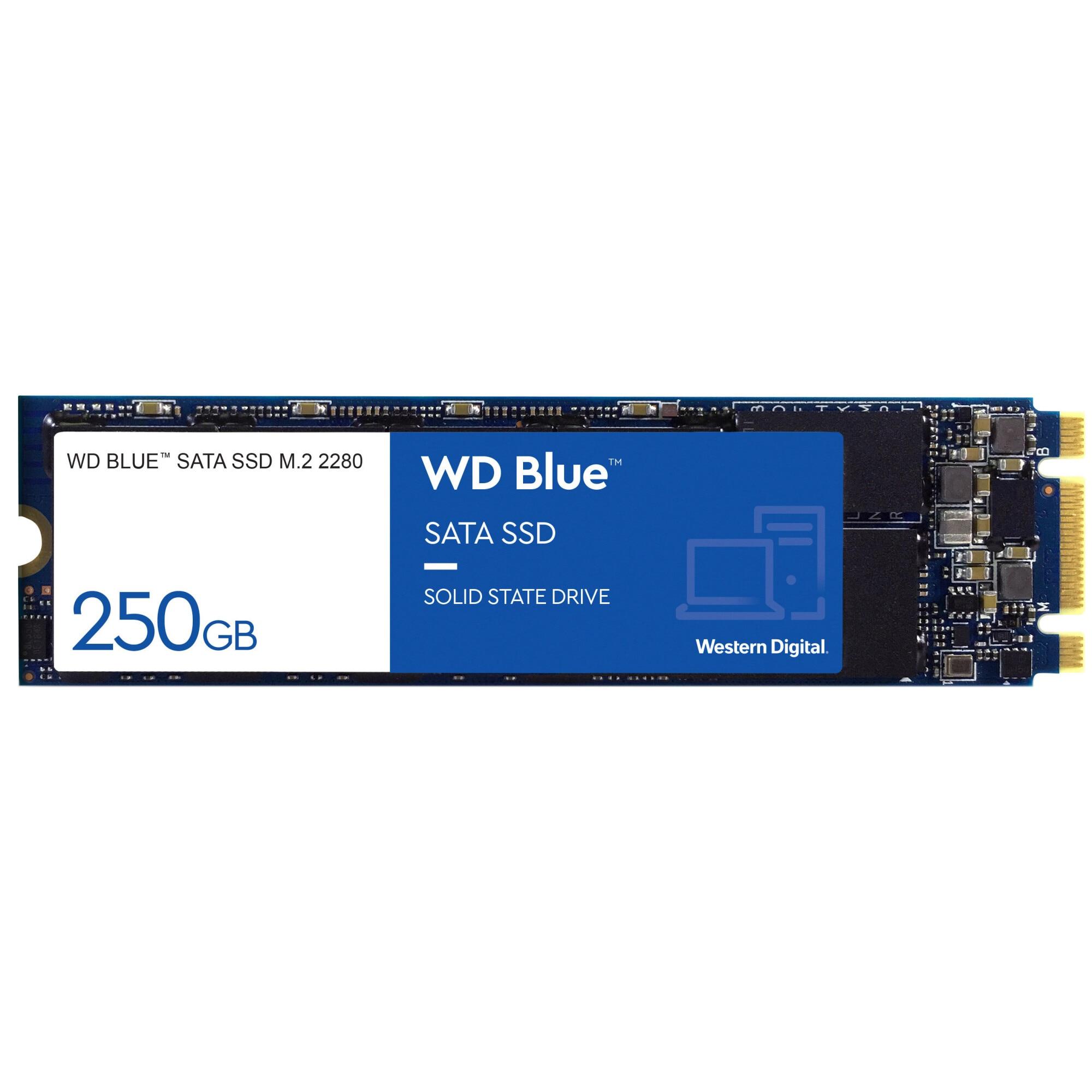 Fotografie Solid State Drive (SSD) WD Blue 3D, 250GB, SATA III, M.2