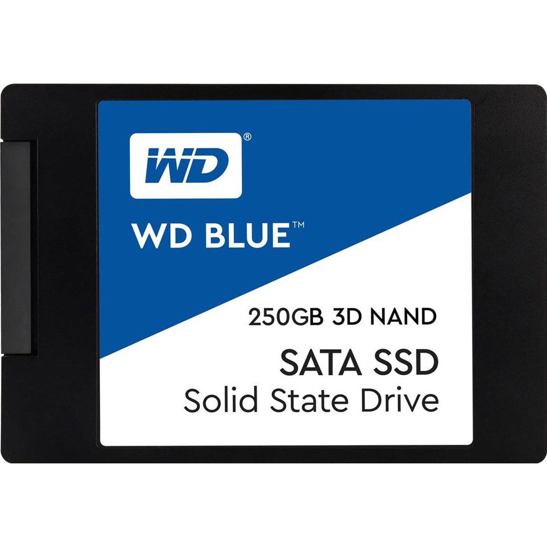 """Fotografie Solid State Drive (SSD) WD Blue 3D, 250GB, SATA III, 2.5"""""""