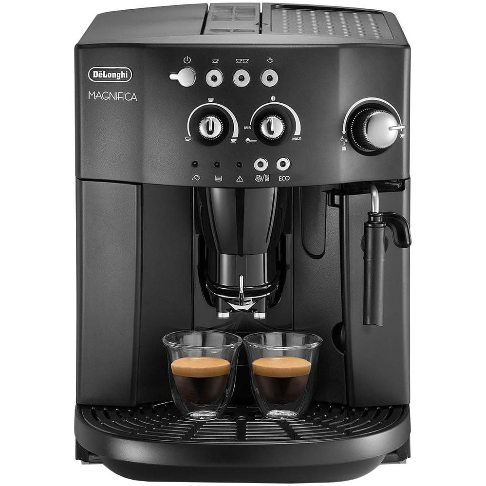 Fotografie Espressor automat De'Longhi Caffe Magnifica ESAM4000-B, 1450W, 15 bar, 1.8 l, Negru